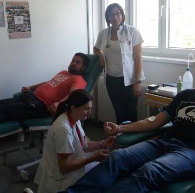 """Uspješno sprovedena akcija Nevladine organizacije """"PV Informer""""na prikupljanju jedinica krvi"""