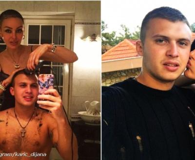 Kada je Dijana ostala bez kose i Stefan je obrijao glavu, a onda je istetovirao njen lik!