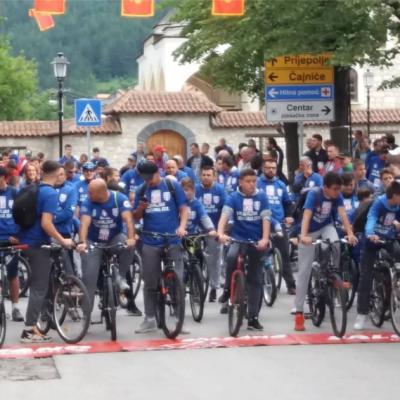 U nedelju  održana V biciklijada na putnom pravcu Pljevlja-Perova luka-Pljevlja