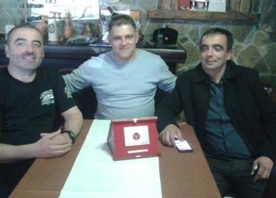 Braći Đolu i Slavku Kljajeviću na današnjoj svečanosti uručena PLAKETA zaštite i spašavanja