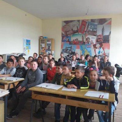 """Učenicima OŠ """"Mataruge"""" održano predavanje kroz projekat """"Edukacija mladih o prevenciji i zaštiti od požara"""""""