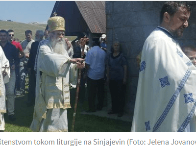 """Kletve za Đukanovića i Vučića, čestitka """"čuvarima obraza"""", opomena za princa"""