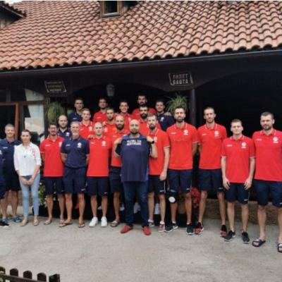Pavković i Golubović posjetili odbojkašku reprezentaciju