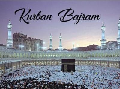 ZA ZAPOSLENE ISLAMSKE VJEROISPOVIJESTI -Povodom Kurbanskog bajrama neradni nedjelja, ponedjeljak i utorak