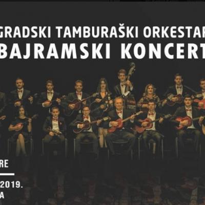 Bajramski koncert gradskog tamburaškog orkestra