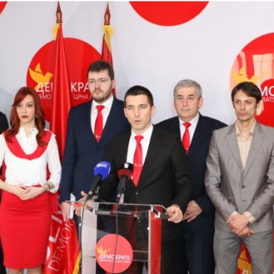 Demokrate: DPS politika raseljava Crnu Goru