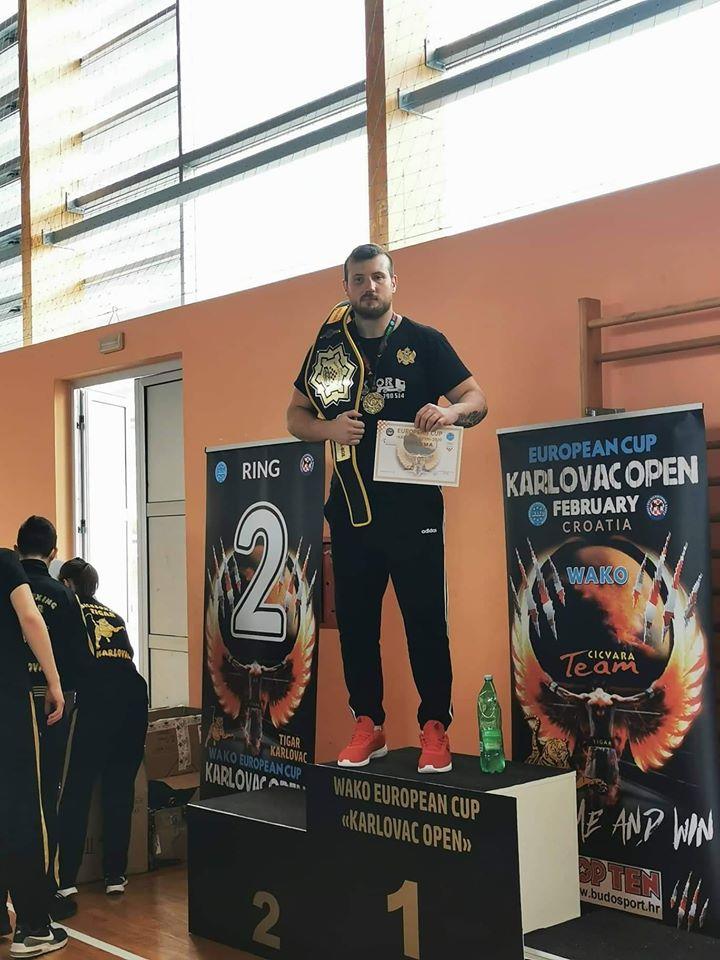 Selmanović osvojio Evropski kup u Karlovcu