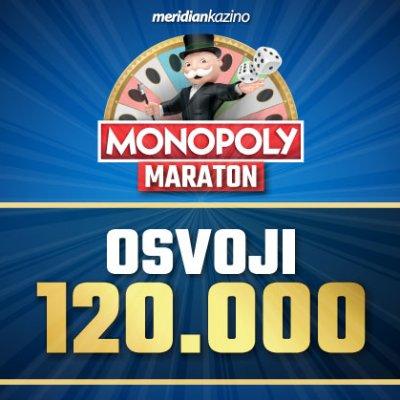 Samo u sportskoj kladionici Meridian – Monopol Maraton vam daje šansu da unovčite svoju sreću!