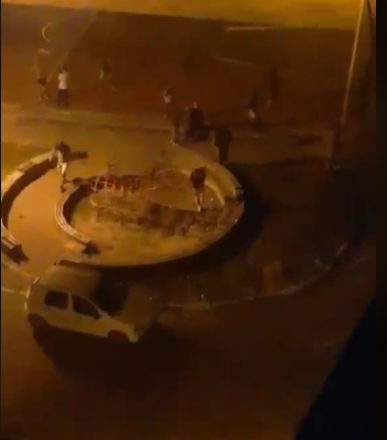 Više incidenata u Pljevljima posle završetka parlamentarnih izbora – Kamenovano i policijsko vozilo