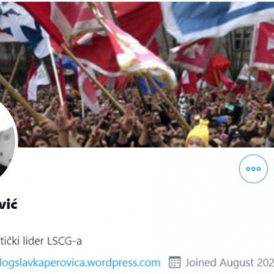 Lažni profili Slavka Perovića i Darka Šukovića osvanuli na Tviteru