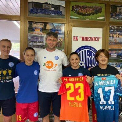 Breznica opet piše istoriju ženskog fudbala u Crnoj Gori
