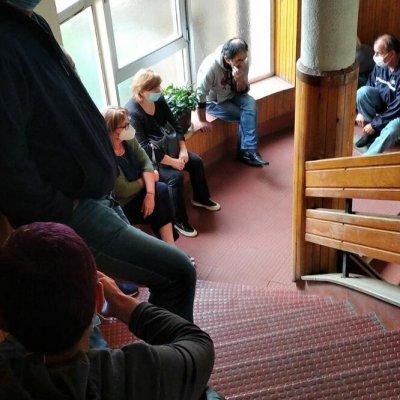 Radnici Komunalnih usluga ušli u zgradu Opštine, tu planiraju da nastave štrajk