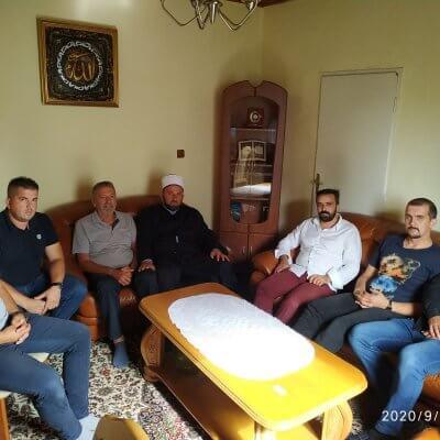 Reis Islamske zajednice u CG Rifat ef. Fejzić posjetio Medžlis IZ-e Pljevlja