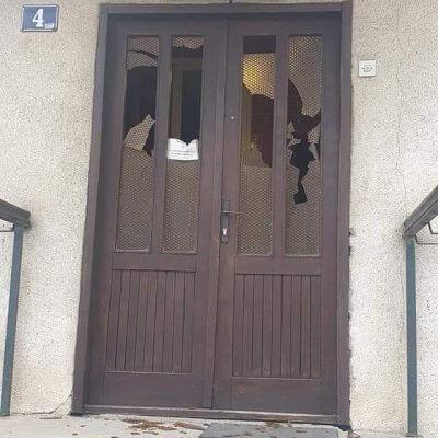 """KOALICIJA """"MIR JE NAŠA NACIJA"""": Najoštrije osuđujemo vandalizam nad prostorijama Odbora Islamske zajednice"""