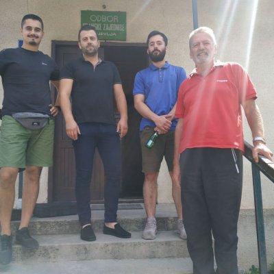 Član Foruma mladih URE donirao video nadzor Islamskoj zajednici u Pljevljima