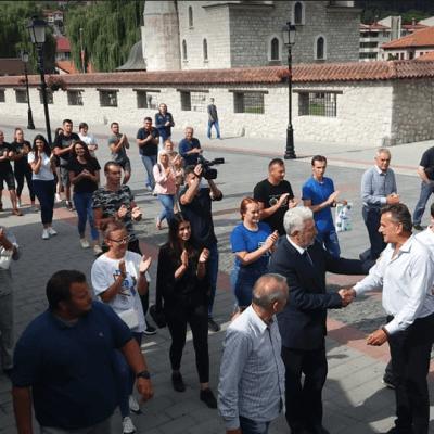 """Zdravko Krivokapić nosilac liste """"Za budućnost Crne Gore"""" danas u Pljevljima"""