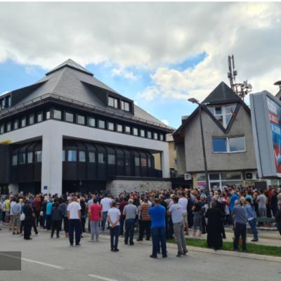 I na Žabljaku protest povodom tragične smrti  Maje Šljivančanin