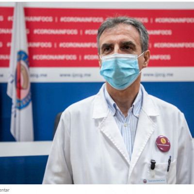 Mugoša: Svi da reaguju, jer epidemiološka situacija u Crnoj Gori ide ka dramatičnoj