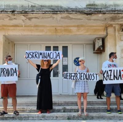 Protest u Budvi: Presuda u slučaju smrti Maje Šljivančanin neprihvatljiva