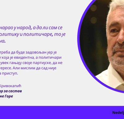 Krivokapić: Opozicija nije uspijevala da pobijedi jer je režim jako dobro poznavao te ljude