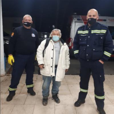 U večernjim satima na  nepristupačnom terenu pronađen turski državljanin u reonu sela Poblaće