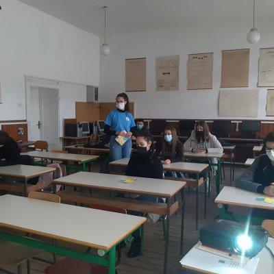 Nastavak uspješne saradnje Gimnazije i Opštinske organizacije Crvenog Krsta Pljevlja