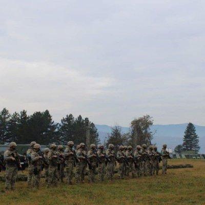 Vojna vježba u Pljevljima, angažovano oko 140 vojnika
