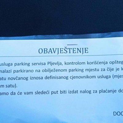 Naplatu parkinga odgoditi do proljeća