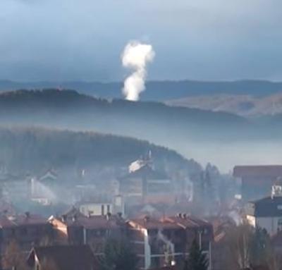 U Pljevljima i u poslepodnevnim časovima velika prekoračenja satnih graničnih vrijednosti Sumpor dioksida