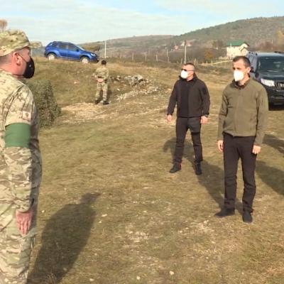Bošković i Dakić na vježbi u Pljevljima: Na Vojsku svaki građanin može i te kako da računa