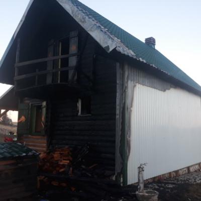 Požar u vikendici na Žabljaku