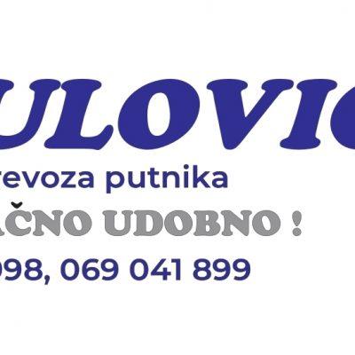 """""""Radulović prevoz Pljevlja"""" počinje sa radom na relaciji PLJEVLJA-GRADAC-ŠULA"""