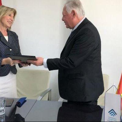 "Potpisan ugovor o dodjeli kredita Institutu ""Dr Simo Milošević"""