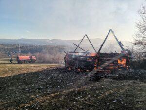 Požar u Boljanicima, izgorela pojata i štala