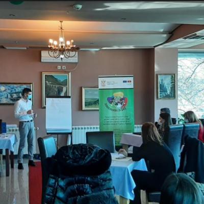 JU Dnevni centar za djecu sa smetnjama u razvoju i lica sa invaliditetom Pljevlja organizovao je  dva dvodnevna treninga