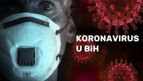 U BiH 444 novozaraženih koronavirusom, preminulo 78 osoba