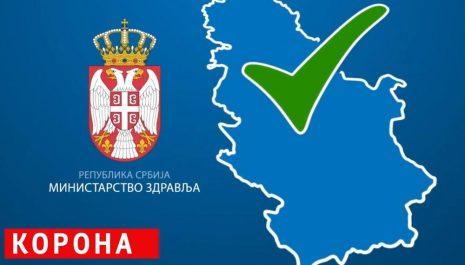 U Srbiji koronavirusom zaraženo još 2.965 osoba