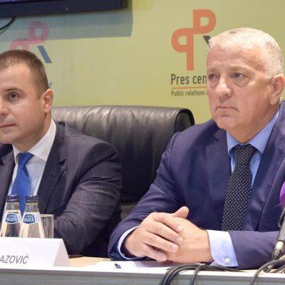Smijenjeni Lazović, Baković, Spičanović i ostali pomoćnici direktora Uprave policije