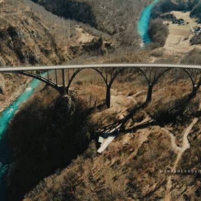 VIDEO: LJEPOTE Crne Gore: Prelijepi KADROVI veličanstvenog Mosta na Đurđevića Tari