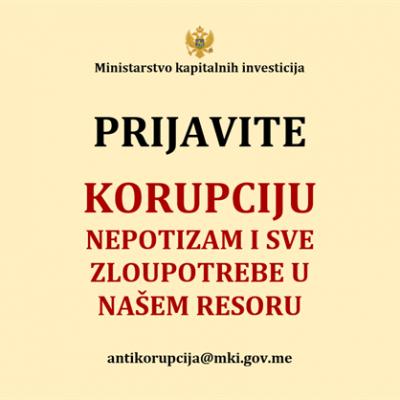 Prijavite korupciju i zloupotrebe! – MKI pokrenulo akciju