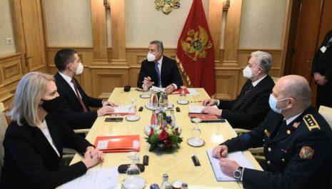 Zasijedao Savjet za odbranu i bezbjednost: Načelnik Generalštaba biće imenovan do kraja sedmice
