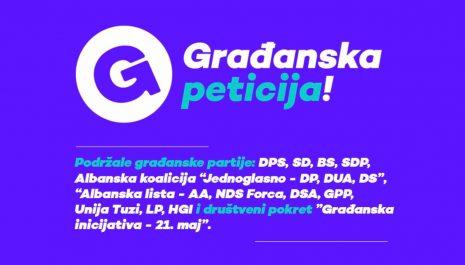 Aktivne dvije peticije: Traži se smjena Leposavića i obustavljanja Izmjena Odluke o državljanstvu