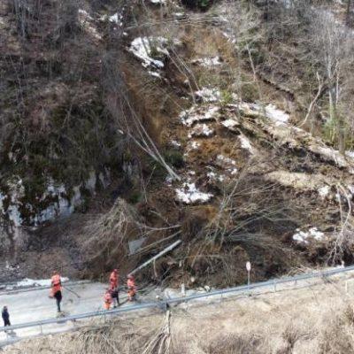 Obrušilo se brdo kod Lubnica, nema povrijeđenih