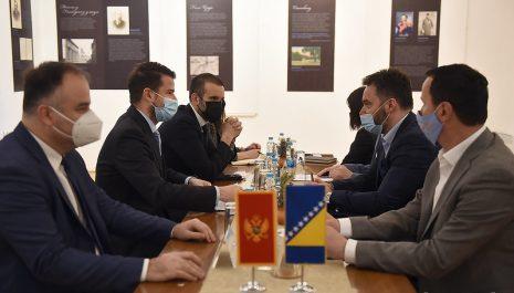 Milatović i Spajić u posjeti Trebinju: Poziv turistima iz BiH da dođu u Crnu Goru