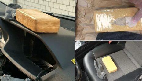Kraljevo: Uhapšen crnogorski državljanin, u kolima kilogram heroina