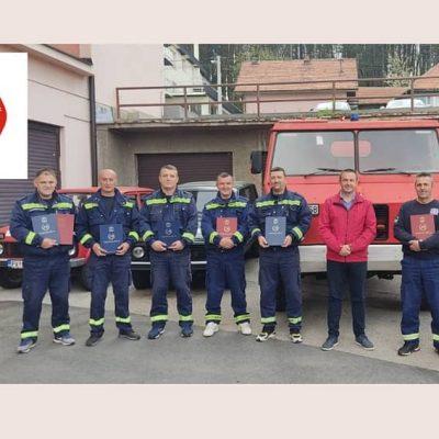 Povodom Međunarodnog dana vatrogasaca-spasilaca zahvalnice za pripadnike Službe zaštite i spašavanja