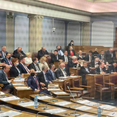 Poslanici vladajuće većine izglasali izmjene Tužilačkog zakona