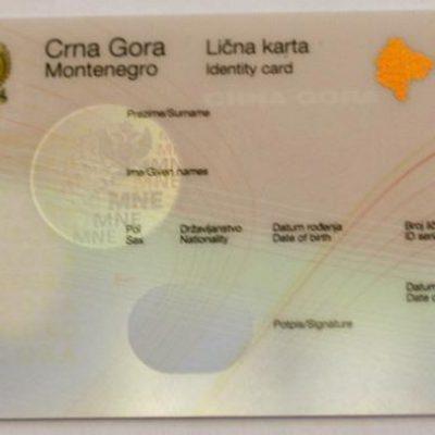 Izgubljena lična karta kod CKB Banke