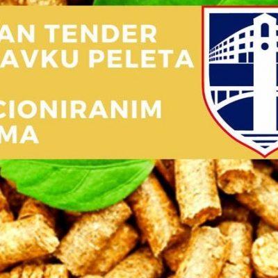 Opština Pljevlja i za narednu grejnu sezonu obezbjeđuje pelet po subvencioniranim cijenama