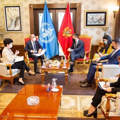 Bečić razgovarao sa direktorom Svjetske zdravstvene organizacije za Evropu o jačanju saradnje
